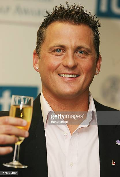Cricketer Darren Gough in the Pressroom at the British Soap Awards 2006 at BBC Television Centre on May 20 2006 in London England The annual awards...