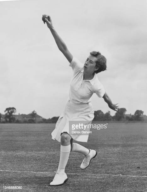Cricketer Dorothy Macfarlane right-arm medium pace bowler for the Northumberland and Durham women's cricket team and a member of the England women's...