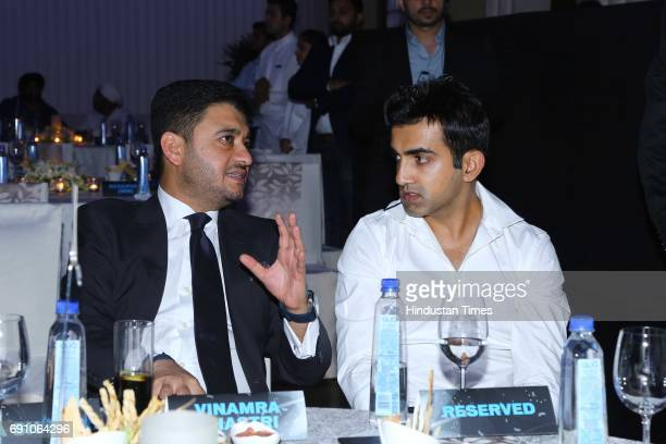Cricketer Gautam Gambhir during the Hindustan Times Game Changer Awards 2017 at Hotel Oberoi on May 24 2017 in Gurgaon India