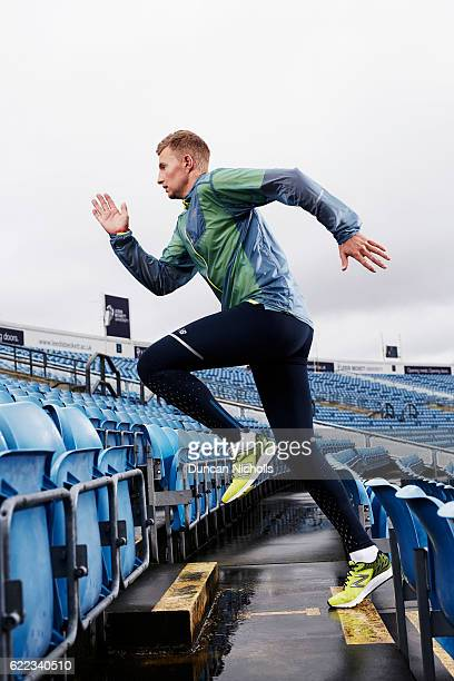 Cricketer Joe Root is photographed on March 1 2016 in London England
