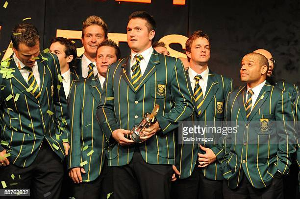 AFRICA JUNE 30 SA cricketer of the Year Greame Smith during the 2009 SA Cricket Awards at the Sandton Convention Centre on June 30 2009 in...