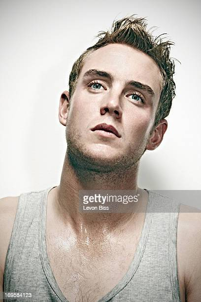 Cricketer Stuart Broad is photographed for the Observer on October 14 2010 in London England