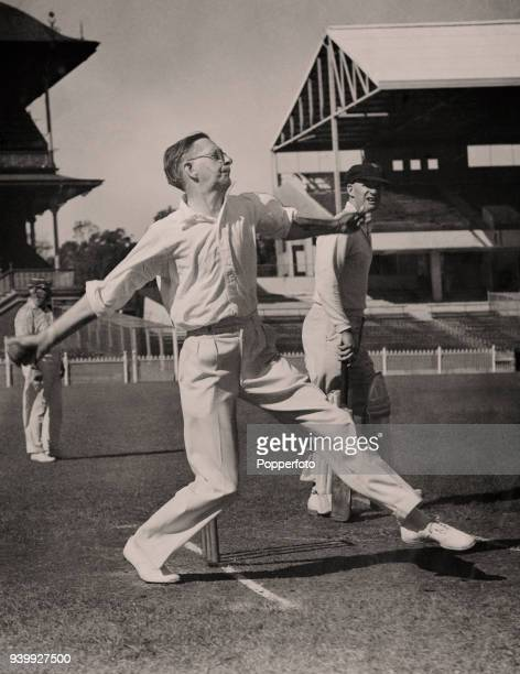 Cricketer writer Neville Cardus playing for an MCC eleven against Ringwood at the Melbourne Cricket Ground circa 1937 Sir Neville Cardus was born in...