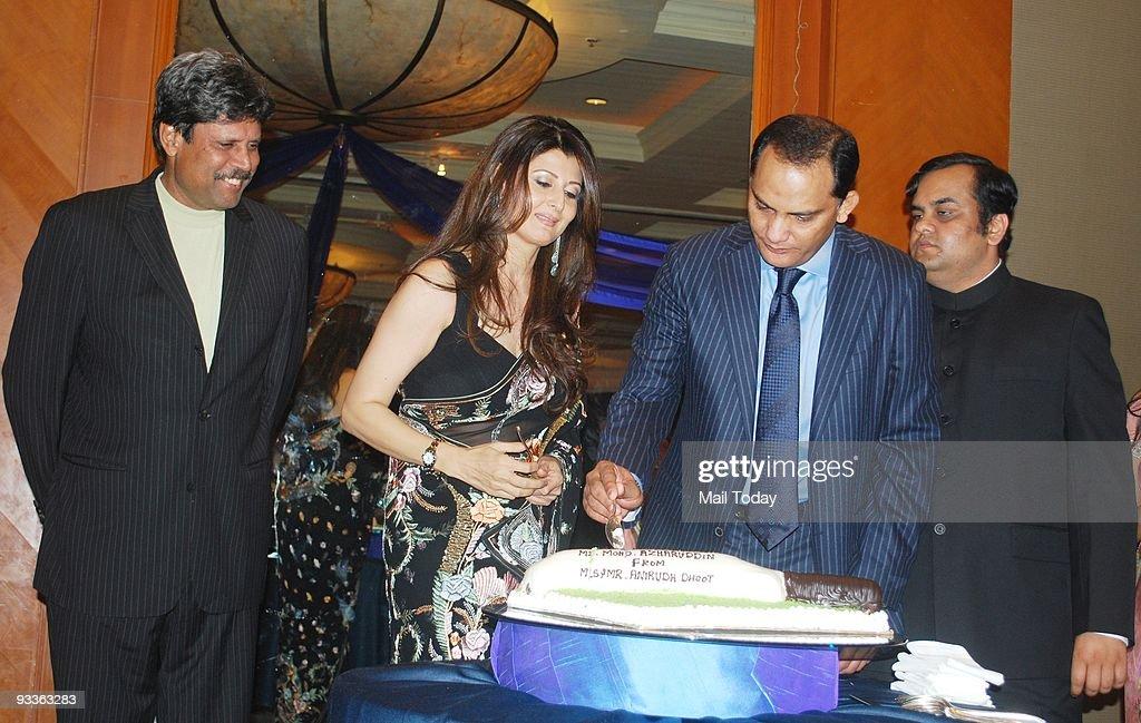 Party To Celebrate Azharuddin Success In Politics : News Photo