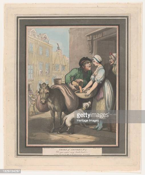 Cries of London, No. 4: Do You Want Any Brickdust?, February 20, 1799. Artist Henri Merke.
