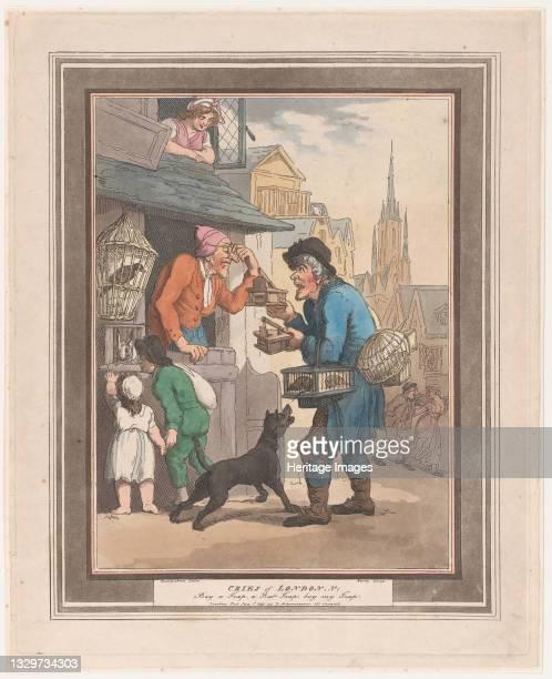 No.1: Buy a Trap, a Rat-Trap, January 1, 1799. Artist Henri Merke.