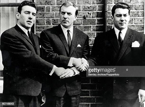 Crime 4th March 1969 The Kray Brotherslr Reginald Charles and RonaldReginald and Ronald were found guilty of murder at the trial at the Old Bailey...