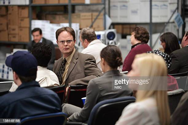 THE OFFICE Crime Aid Episode 4 Pictured Rainn Wilson as Dwight Schrute