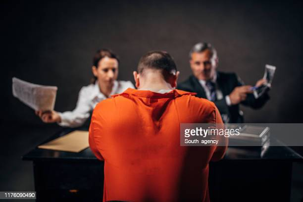 crime investigation - defendant stock pictures, royalty-free photos & images