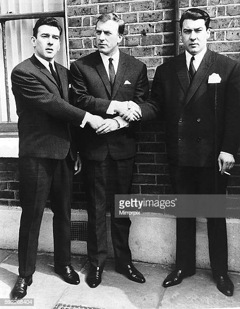 Crime Krays Ronnie left Charlie and Reggie in 1965 7th January Krays in custody over menace charge Identical twin brothers Ronald and Reginald Kray...