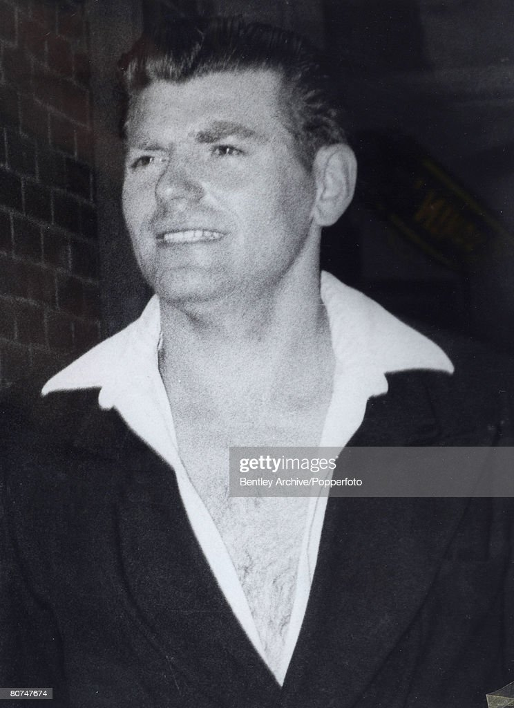 Crime London, England. Circa 1960's. The Kray Twins. Portrait of the Mad Axeman, Frank Mitchell. Reg and Ronnie Kray were implicated in his death. : News Photo
