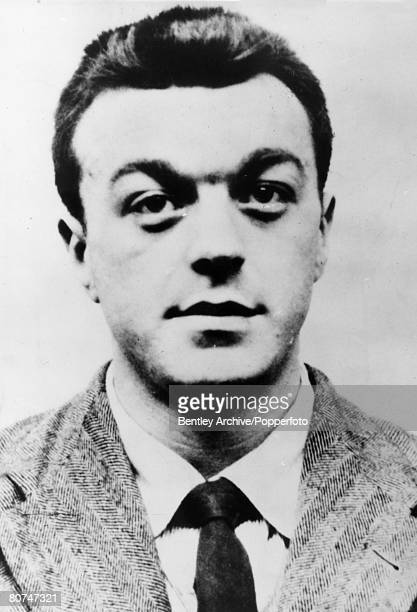 1966 A Scotland Yard living likeness image of robber Harry Roberts issued in the chase for the criminal Harry Roberts and his two accomplices Jon...