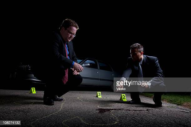crime scene analysis - detective stock pictures, royalty-free photos & images