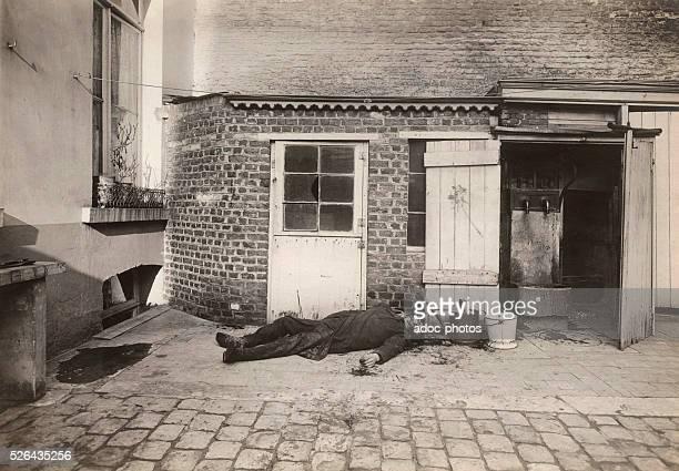 Crime scene Ca 1920