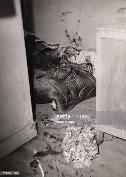 Crime scene Ca 1950