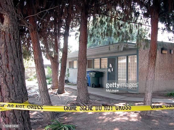 Crime scene Marcus Wesson suspected mass murder Fresno CA USA March 2004