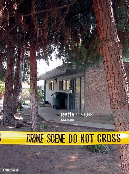 Crime scene Marcus Wesson suspected mass murder Fresno CA USA March 2005