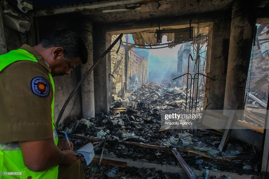 Mobs attack Muslim property in Sri Lanka : News Photo