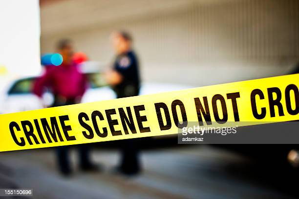crime scene - police vehicle lighting stock pictures, royalty-free photos & images