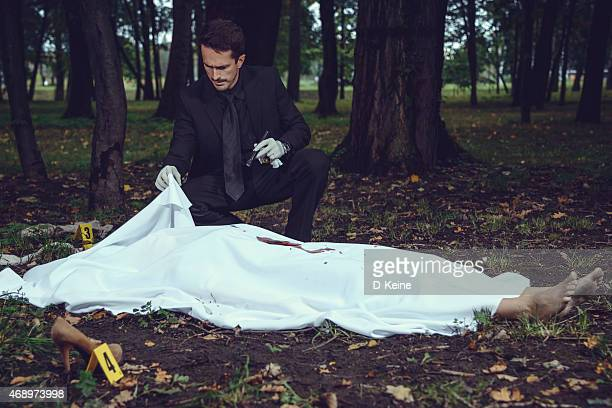 crime scene - dead female bodies stock pictures, royalty-free photos & images