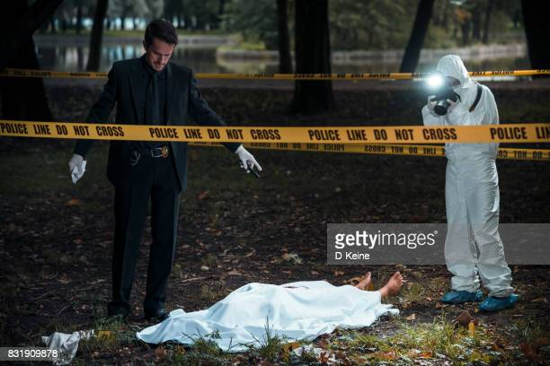 crime scene - more dead cops stock pictures, royalty-free photos & images