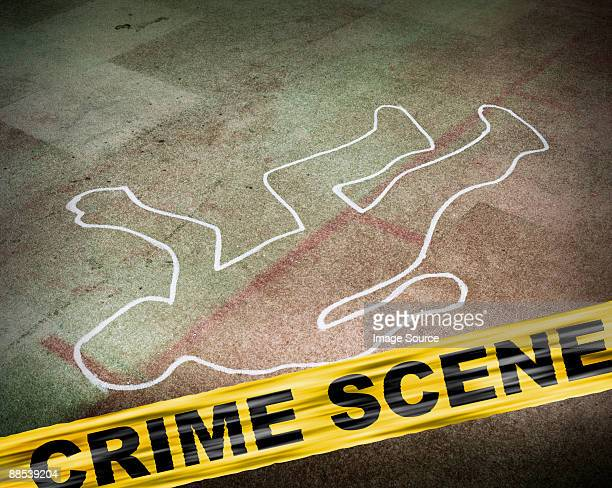 a crime scene - murder stock photos and pictures
