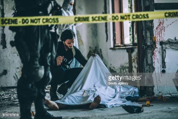 crime scene - gruesome crime scene photos stock pictures, royalty-free photos & images