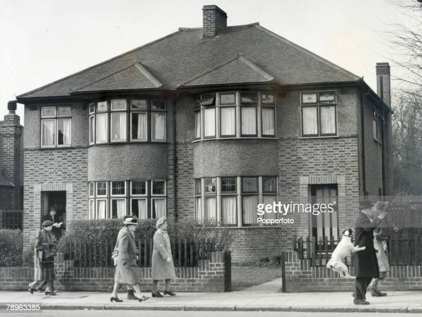Crime The Acid Bath Murder Case John George Haigh London England The semidetached house in Grand Drive Raynes Park was the home of William McSwam The...