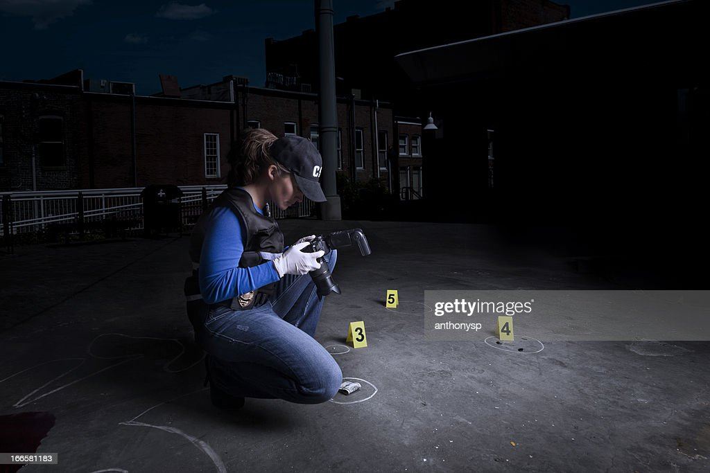 crime town : Stock Photo