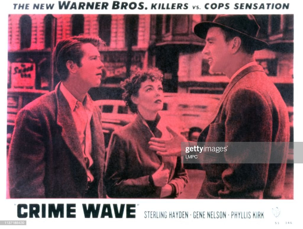 Classic Old Movie : Crime Wave 1954