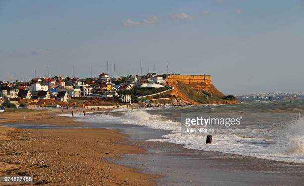 crimea. orlovka - nikitina stock pictures, royalty-free photos & images