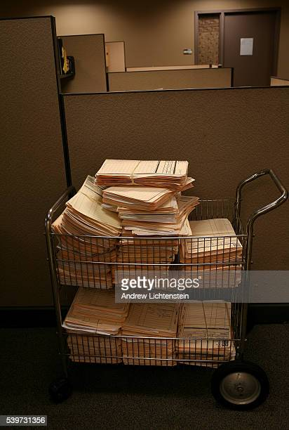 Criminal court case files are collected for storage at the Legal Aid office in Brooklyn Legal Aid one of the oldest nonprofit organizations in the...