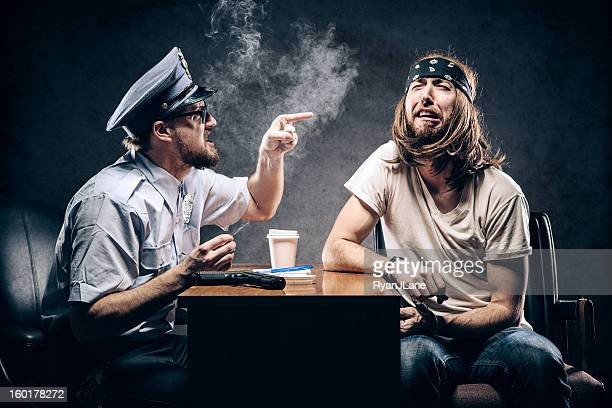 Criminal Gets Police Chief Interrogation