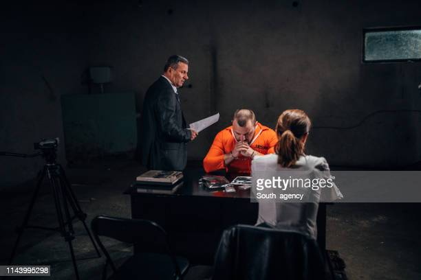 criminal investigation - confession law stock pictures, royalty-free photos & images