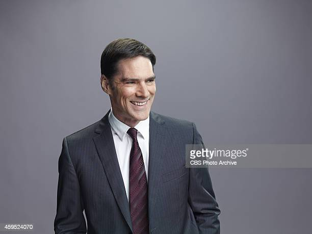 Criminal Minds Thomas Gibson plays Aaron Hotchner a strong profiler who is able to gain people's trust and unlock their secrets
