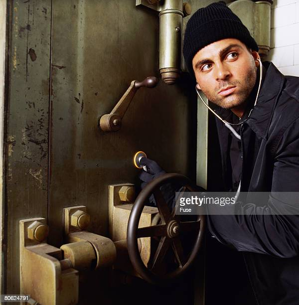 Criminal Opening Bank Vault