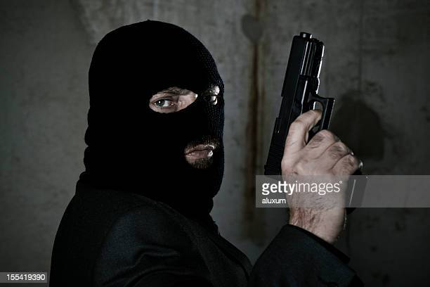 criminal - balaclava stock pictures, royalty-free photos & images