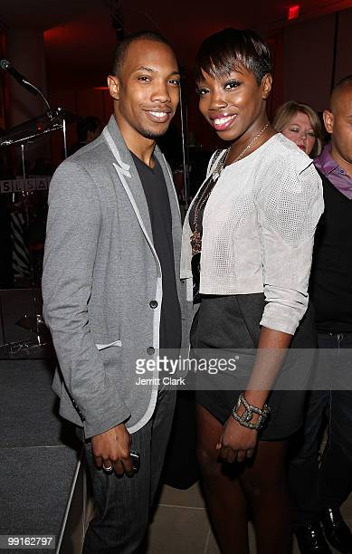 Crimson and Estelle attend the 2010 SESAC New York Music Awards at the IAC Building on May 12, 2010 in New York City.