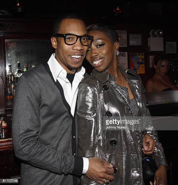 Crimson and Estelle attend Vaughn Anthony's Birthday Bash Hosted by John Legend on May 22 2008 in New York City