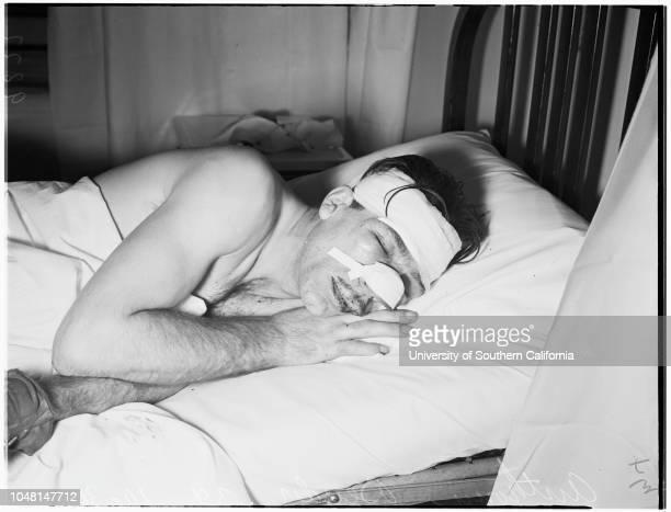 Crippled man beaten, 30 October 1951. Anthony Bender -- 39 years ..