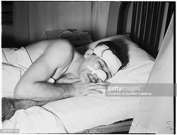 Crippled man beaten, Anthony Bender, 39 years , October 30, 1951.