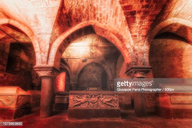 cripta. - crypt stock photos and pictures