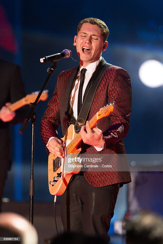 Cris Cab performs during the ceremony of the World Music Awards 2014 at Sporting Monte-Carlo on May 27, 2014 in Monte-Carlo, Monaco.