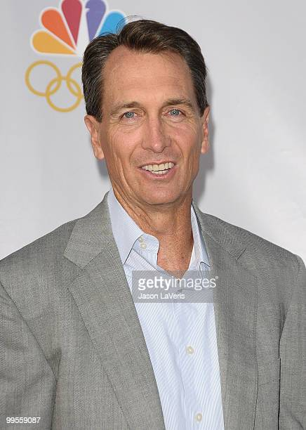 Cris Collinsworth attends An Evening With NBC Universal at The Cable Show 2010 at Universal Studios Hollywood on May 12 2010 in Universal City...