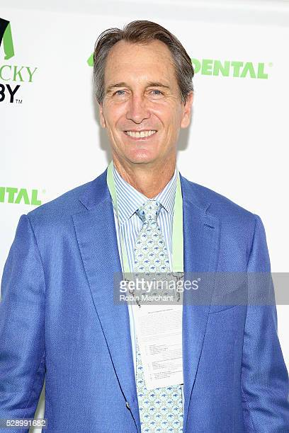 Cris Collinsworth attends the Delta Dental Celebrity Green Room during the 142nd Kentucky Derby at Churchill Downs on May 7 2016 in Louisville...