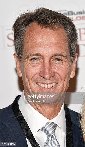 Cris Collinsworth attends the Sports Business Awards 2015 at The New York Marriott Marquis on May 20 2015 in New York City