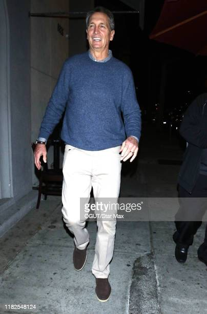 Cris Collinsworth is seen on November 14 2019 in Los Angeles California