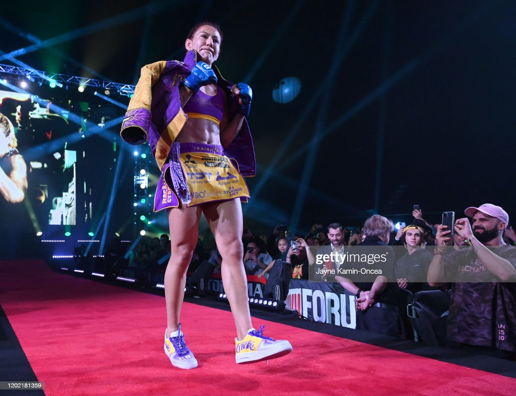 Bellator 238 Julia Budd v Cris Cyborg : News Photo