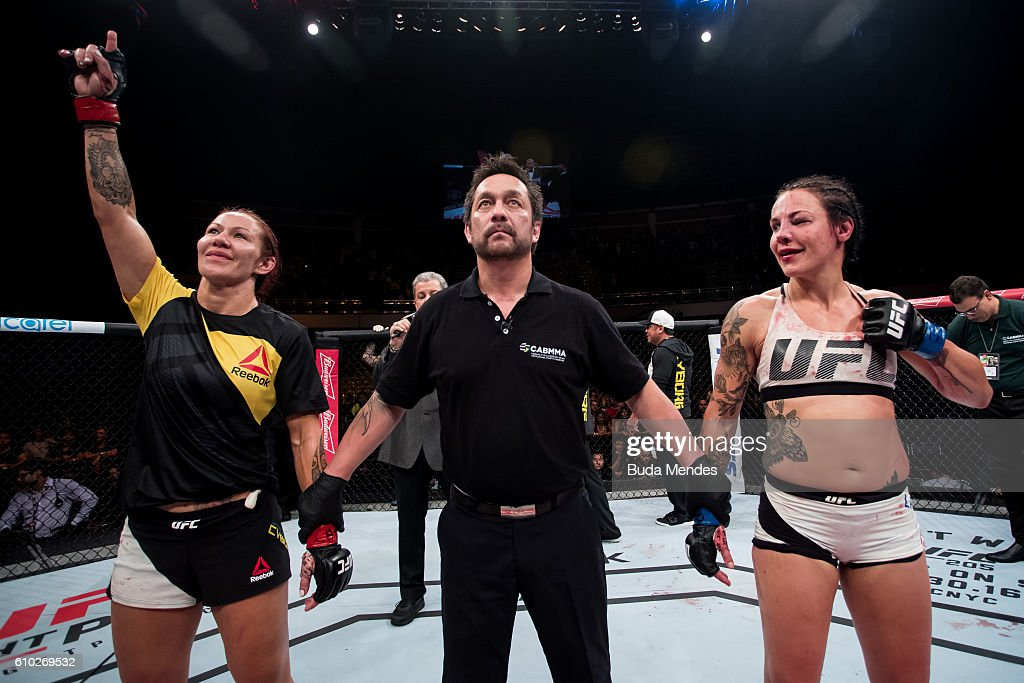 UFC Fight Night: Cyborg v Lansberg : News Photo