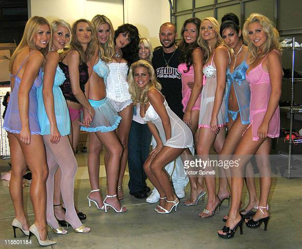 Cris Judd and models wearing Perfect 10 during Perfect 10 Magazine and CKP Present Hot Lingerie Fashion Show Produced by Eileen Koch and Company at...